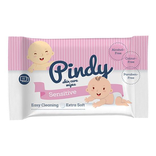 Pindy - Pindy 72 lapos babatörlő