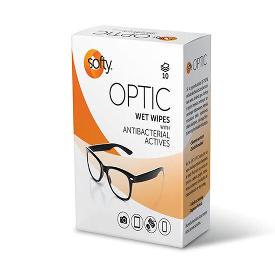 Softy - Softy Optic 10 lapos szemüvegtörlő kendő