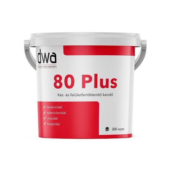 DWA - DWA 80 Plus kéz- és felületfertőtlenítő vödrös kiszerelésű termék 300 lap